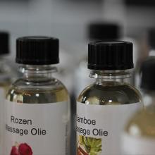 Ontspanningsmassage met aromatische olie